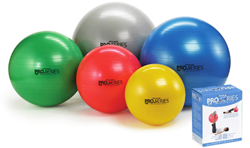 Pro-Series Exercise Ball Slow-Deflate  45cm.