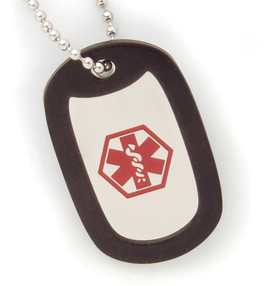 BSSN BSS - Fancy ID Blank Necklace w/Dog Tag & Cond Stickers at Sears.com