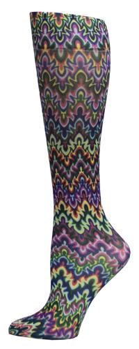 BSSN Celeste Stein Comp. Ladies Socks (pr) Blue Fleur Missoni  8-15 mmHg at Sears.com